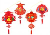 MDU-004  手工新年製作節日燈籠diy EVA宮燈材料包