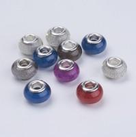 DIY-6002 混色大孔銅釦串珠