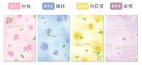 BC-21632  珠友 B6/32K 月計劃+筆記/記事本/手帳/手札/行事曆(2021.6~2022.6)