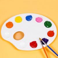 MTF-075 兒童橢圓形調色盤