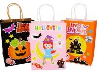 MDS-007 萬聖節手提袋 兒童幼稚園DIY手工製作材料包