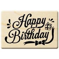 E278 - 楓木印章-生日派對/英文字章/生日快樂