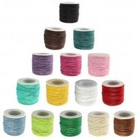 DIY-8072 1mm文玩蠟線皮繩韓國蠟繩手鏈編織繩