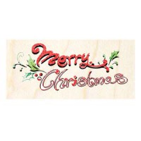 楓木印章 - F157 - 聖誕歡樂 字母 Merry Christmas
