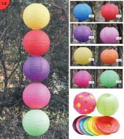 新年手工材料包 - 純彩色燈籠