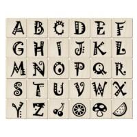 ALP17英文字母印章組(30入)