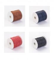 DIY-8073  1.5mm彩色蠟繩diy手鏈項鍊蠟線手工