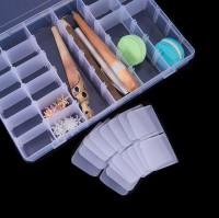 DIY-3040 36格首飾盒 收納珠子塑膠盒DIY白色飾品包裝盒子