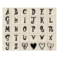 ALP19英文字母印章組(30入)