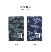 台灣珠友文具 - 迷彩拉鍊護照短夾/護照包/護照套
