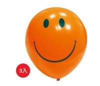 BI-03025 12吋 微笑 圓型氣球小包裝/汽球