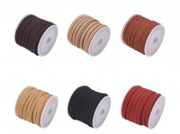DIY-8075  5mm韓國絨組合仿麂皮繩套DIY流蘇飾品手工手鏈編織材料