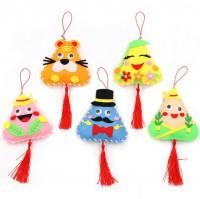 MDK-001  端午節手工粽子香包 不織布兒童創意diy製作材料包