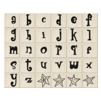 ALP20英文字母印章組(30入)