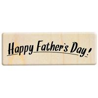 E389 - 楓木印章-爸爸的採集生活日記 父親節快樂英文字章