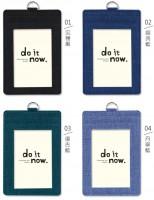 DO-61015 多層識別證套/證件套/工作證套/票卡夾/萬用票夾/卡套(直式)-do it now
