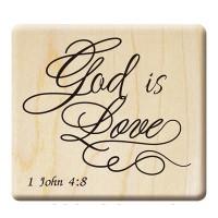 E286 - 楓木印章-聖經經文印章