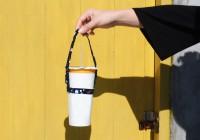 PB-80027-(01-04) 花布簡易式飲料杯提袋