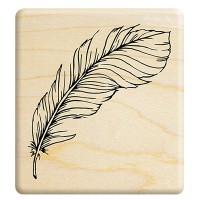 E307 - 楓木印章- 暖心之冬 羽毛