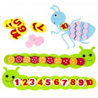MTG-016-026 幼兒圖案點數數字顏色排序款學習教材
