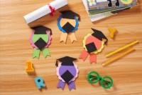 MTW-001 畢業禮物小禮品兒童手工diy創意畢業勳章獎章自製材料包