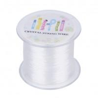 DIY-8031 水晶線透明彈力線diy串珠子線材180m/卷