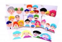 MKP-005 設計髮型創意DIY手工製作玩具 父親節的禮物兒童材料包