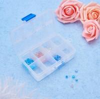 DIY-3024-3027 24格3cm白色多格長方形塑膠盒diy首飾材料收納包裝盒