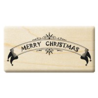 楓木印章 - H165- 聖誕字 Merry Christmas