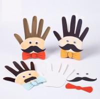 MKP-002 父親節入門手工爸爸的大手掌兒童益智玩具diy材料包
