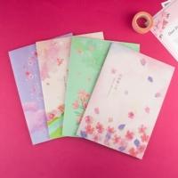 台灣珠友文具 - 100K定頁筆記本-30張/櫻の日