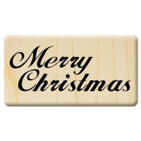 楓木印章 - F004 - 聖誕歡樂 字母 Merry Christmas