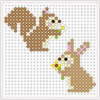 拼豆 - 松鼠和兔子