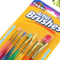 7色糖果筆刷