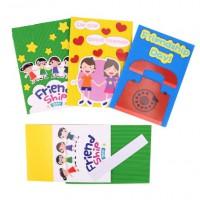MTW-008手工製作賀卡 兒童畢業祝福粘貼可手寫彩色卡片diy製作材料