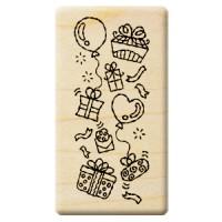 楓木印章 - F102 - 聖誕歡樂 氣球 背景
