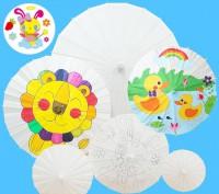 MDJ-013-015 空白油紙紙傘