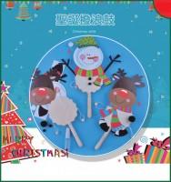 聖誕手工材料包 - 聖誕撥浪鼓