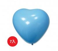 BI-03003 台灣製-5吋心形氣球汽球/小包裝