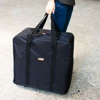 台灣珠友文具 - 附輪超大行李袋(可加高)