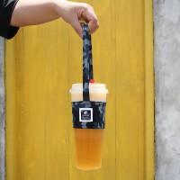 台灣珠友文具 - 迷彩杯套式飲料杯提袋