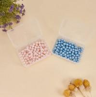 DIY-3022  9x6x3.2cm塑膠盒子透明有蓋 珠寶首飾小收納盒