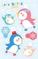 10002 - 企鵝溜冰