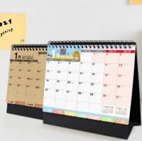 BC-05211 2021年A5/25K索引三角月曆/桌曆