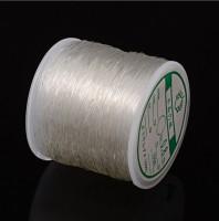 DIY-8037 0.8mm透明水晶彈力線diy串珠子鬆緊線材100m/卷