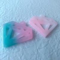 DIY配件 - 鑽石形配件