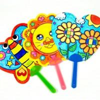 MTC-001 兒童DIY空白扇子2