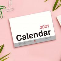 BC-05210 2021年A5/25K可掛式月計劃月曆/掛曆-直式
