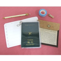 台灣珠友文具 - 透明護照套