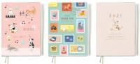 BC-50456  A6/50K 2021年彩色年度週誌/週計劃+收支/家計手帳